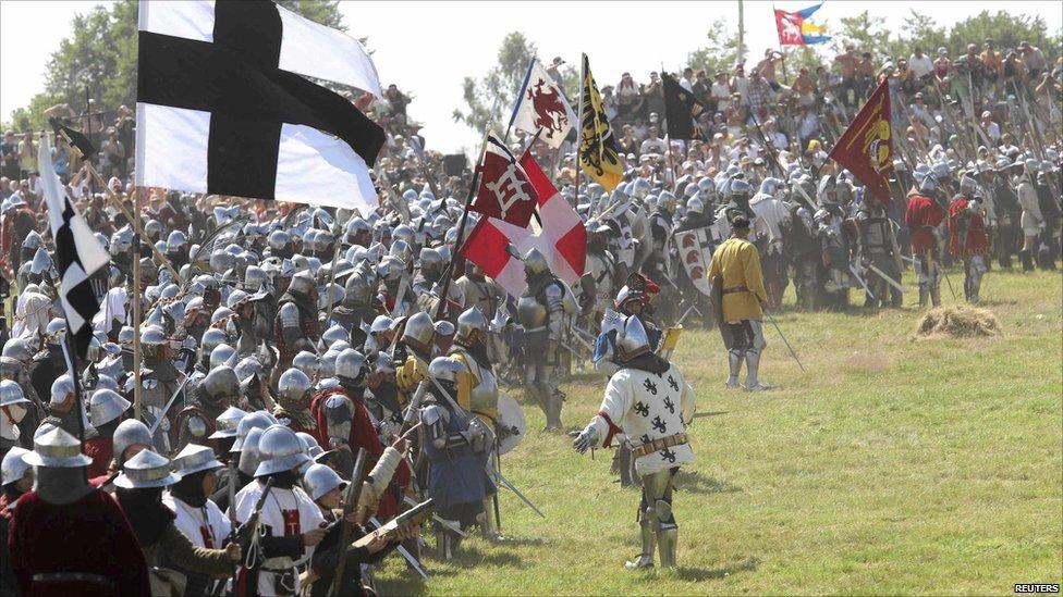 Bitwa pod Grunwaldem- noclegi w Folwarku Miłkowiec!